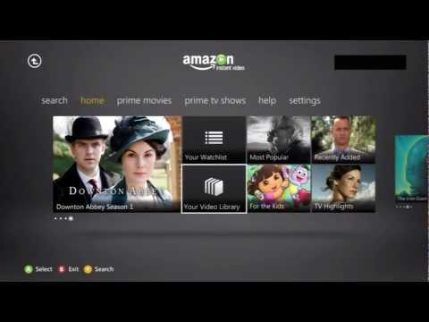 Amazon Instant - Xbox Live App Walkthrough