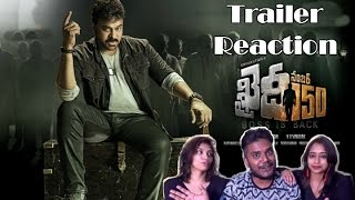 Khaidi No 150 Trailer Reaction By Neha, Saanch & Ronnie | Telugu |  Mega Star Chiranjeevi
