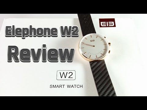 Elephone W2 Smartwatch Review / Test