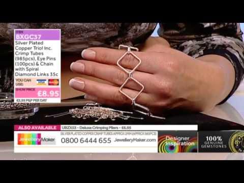 [How to make Lace Jewellery] - JewelleryMaker DI  7/11/14