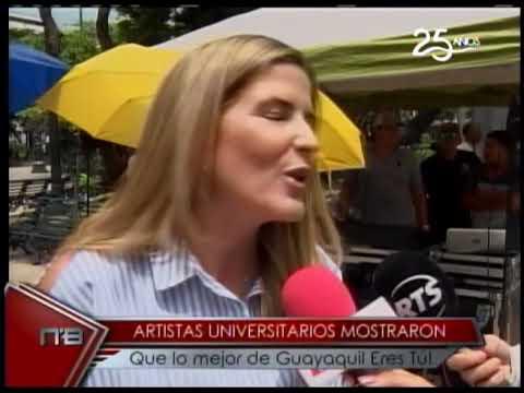 Artistas Universitarios mostraron que lo mejor de Guayaquil Eres tú