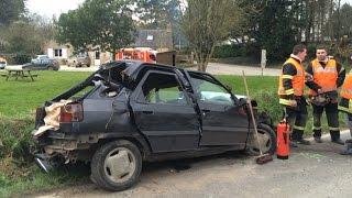 Accident mortel à Tréflaouénan