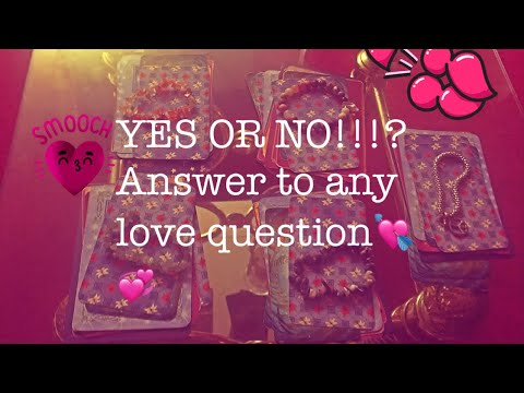 No love questions yes or 325 YES