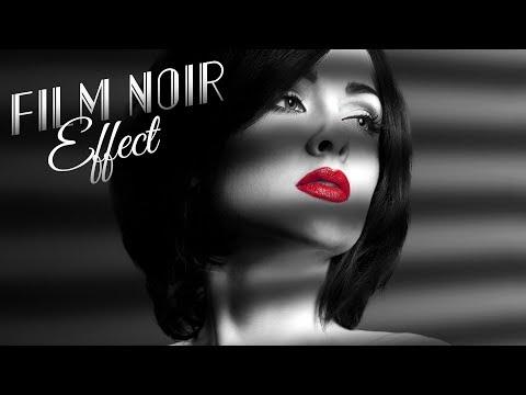 Photoshop Tutorial: How to Create a Classic, Film Noir Portrait - Plus GIVEAWAY!!!