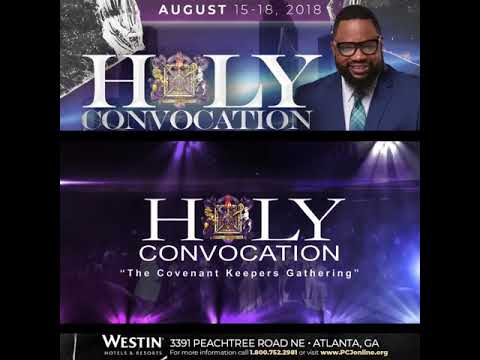 Holy Convocation 2018 with Hezekiah Walker