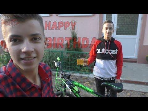 Мой День РОЖДЕНИЯ My birthday Подарили велосипед