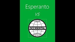 Occidental/Interlingue  vs Esperanto