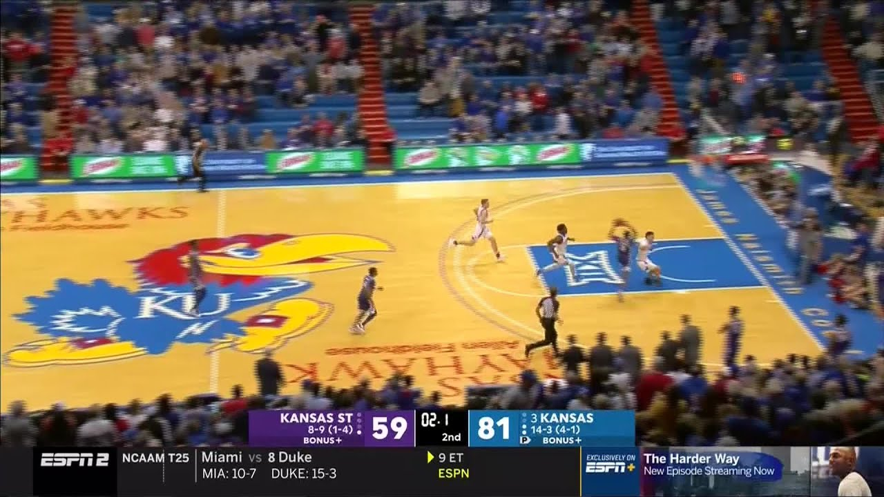 WATCH: Ugly brawl breaks out at end of Kansas State-Kansas ...