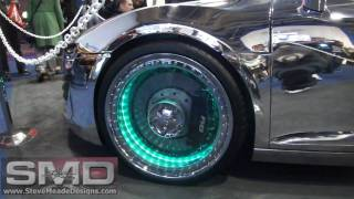 West Coast Customs Audi R8 - Chrome Paint, Clear Wheels CES 2011