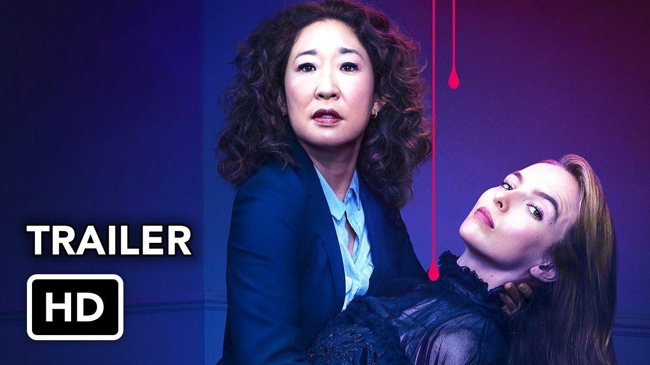 Killing Eve Season 2 Final Trailer (HD) Sandra Oh, Jodie Comer series