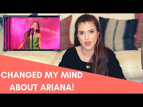 THE PERFORMANCE THAT CHANGED MY MIND ABOUT ARIANA -- VOICE TEACHER REACTS