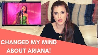 Download lagu THE PERFORMANCE THAT CHANGED MY MIND ABOUT ARIANA -- VOICE TEACHER REACTS