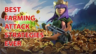 CRAZY LOOT! Best Farming attack Strategy for TH10 | Bengali by clasher SHAHADAT & MASTER ALVEE