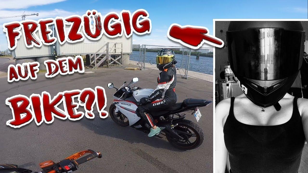 Motorrad und frauen