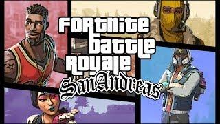 CJ DO GTA NO FORTNITE! Fortnite Battle Royale Movie