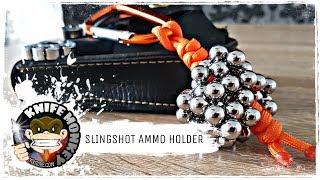 Paracord Slingshot/Catapult Ammo Holder (Easy Tutorial)