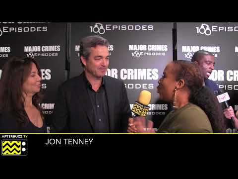 Jon Tenney | Major Crimes 100 Episodes Celebration Red Carpet