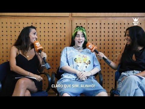 Интервью Билли Айлиш для «Mega Hits», Португалия [Русские субтитры]