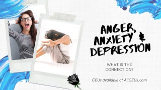Anger, Anxiety, Depression Make the Connection -Counselor Toolbox Podcast with Dr. Dawn-Elise Snipes