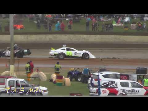 Tassie Sixers Heat 1 gulf western & independent oils raceway Latrobe 2/12/17