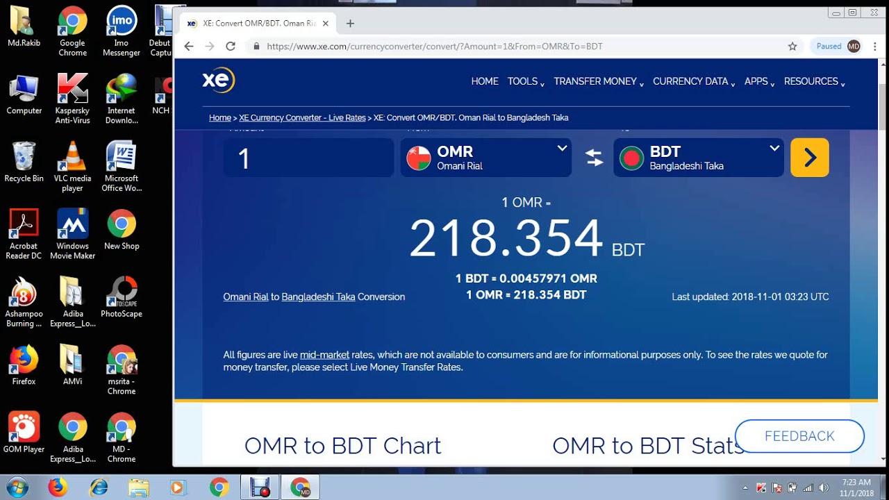 Omani Rial To Desh Taka Exchange Rate Omr Bdt Travel Money Rates