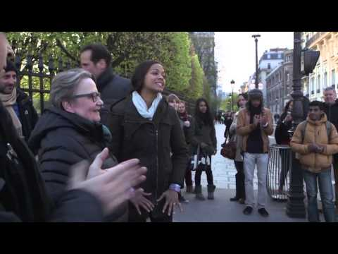 Rosemary´s Baby: Behind the Scenes (Broll) NBC 2014 - Shot in Paris France