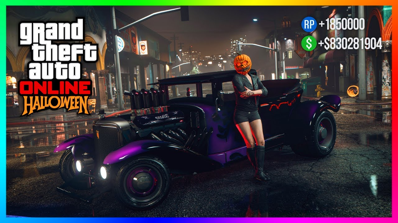 GTA 5 Online Happy Halloween 2020 DLC Update - FREE Items, Bonus Money Giveaway, 3X Payouts & MORE!