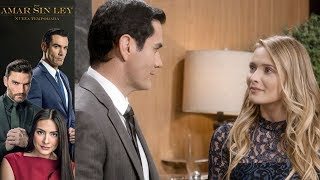 Por Amar Sin Ley 2 - Capítulo 59: Ricardo comienza a sentirse atraído por Sofía - Televisa