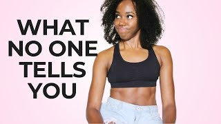 SMALL BUTT ➟ What No One Tells You About Getting Big