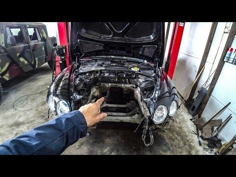 Bentley разобран, SVR снова в ДТП, Альфа уехала в распил.