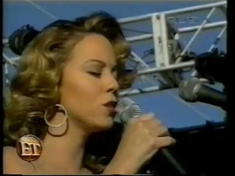 Mariah Carey  The Making of I Still Believe News Clip 1998