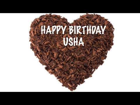 Usha  Chocolate - Happy Birthday