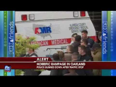 Oakland Police Shootout