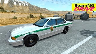 High Speed Jumps | Crashes #17 | BeamNG Monster Truck, Police car, Ambulance, Fire Truck