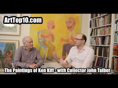 Ken Kiff - Art collector John Talbot discusses his collection of Ken Kiff paintings with ArtTop10