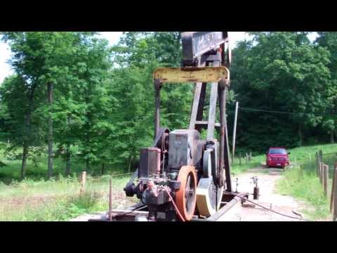 C-66 Climax oilfield engine.MP4