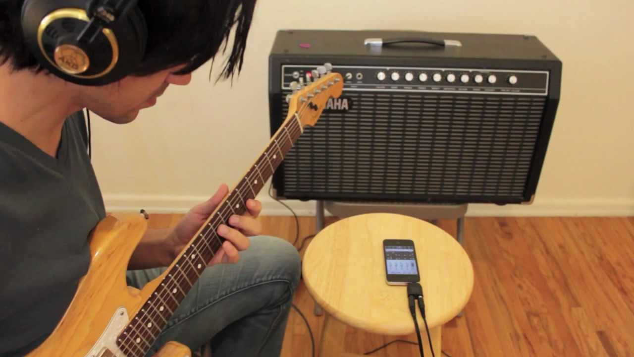 1) Built in mic | Record on iPhone iPad with StudioMini ♬ Recording Studio  App
