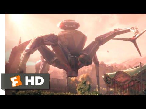 Wonder Park (2019) - Robot Spider Attack Scene (4/10)   Movieclips