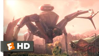 Wonder Park (2019) - Robot Spider Attack Scene (4/10) | Movieclips