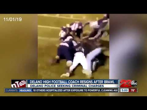 Delano High School football coach resigns following fight