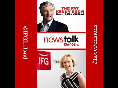 Samantha McConnell on The Pat Kenny Show on Newstalk, Monday 7th April