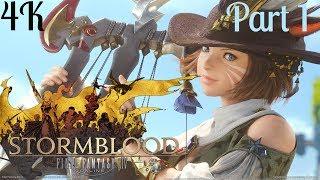 Final Fantasy XIV Online PS4 PRO 4K: Stormblood Expansion Part 1