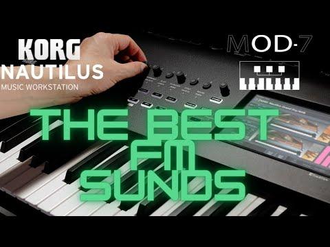 KORG NAUTILUS THE BEST FM SOUNDS MOOD 7