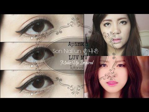 Son NaEun 손나은 of Apink 에이핑크 - LUV Make Up Inspired Tutorial
