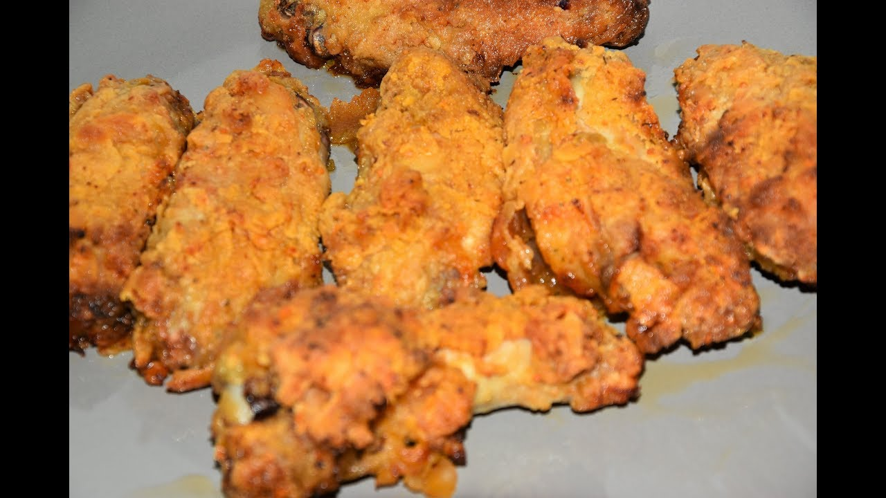 Extra Crispy Air Fryer Chicken Wings Air Fried Chicken Wings