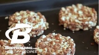Healthy Recipes Chocolate Peanut Butter Protein Crisps Bars