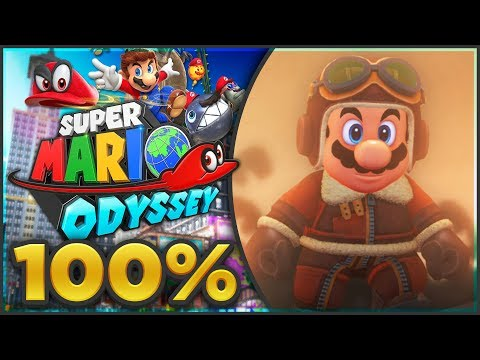 Super Mario Odyssey - Lost Kingdom 100% All Moons & Coins! [🔴LIVE]