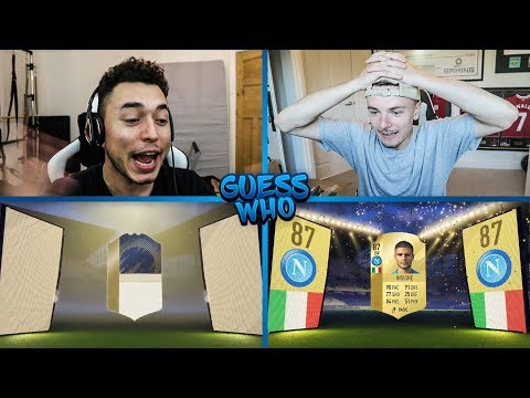 YOU WON'T BELIEVE THIS 😱 ICON GUESS WHO FIFA vs RossiHD 🔥