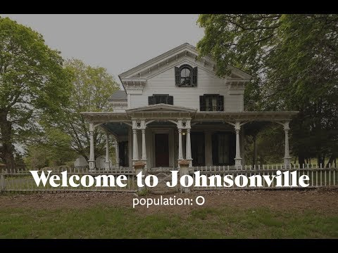 An entire 62-acre ghost town in Johnsonville, Connecticut is for sale