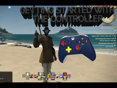 FINAL FANTASY XIV Getting Started with the Controller Guide